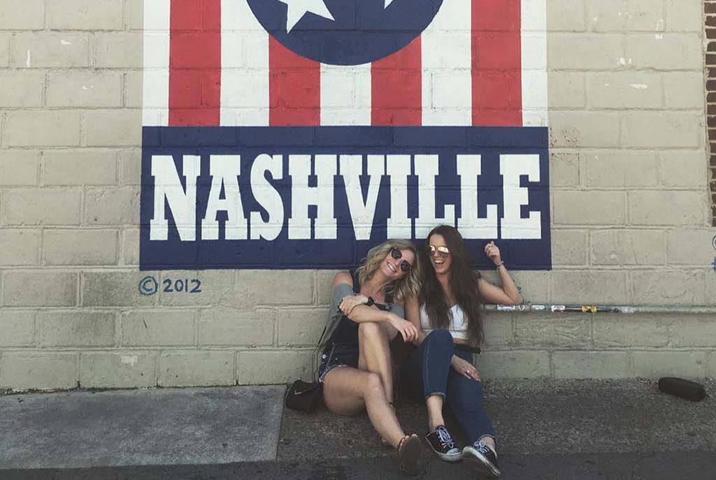 Melissa Livingstone and Nicole Sumerlyn in Nashville